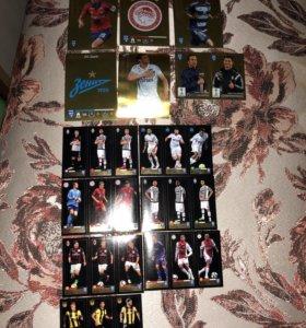 Продадим футбольные карточки
