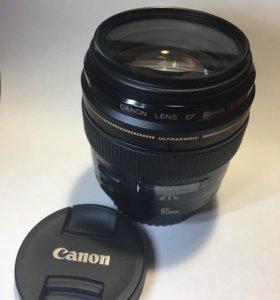 Canon 85 mm f 1,8