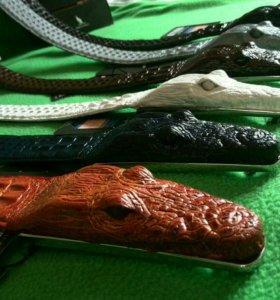 Кожаный ремень Alligator