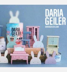 Краски Daria Geiler ,новые, покупала август 2018 1