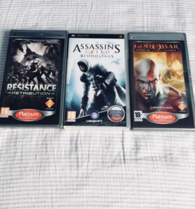 Игры на приставку PSP