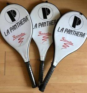 3 новые теннисные ракетки