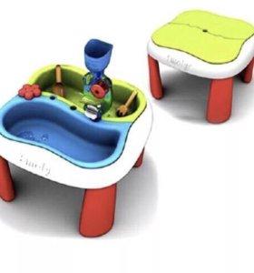Стол для воды и песка smoby .домашняя песочница