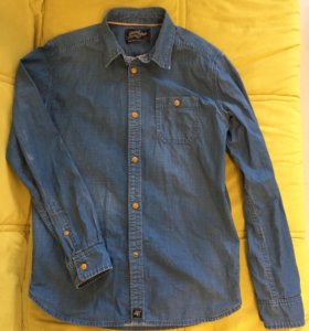 Джинсовая рубашка Scotch&Soda Amsterdams Blauw