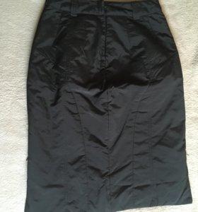 Зимняя юбка на синтепоне теплая