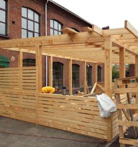 предлагаю услуги плотника