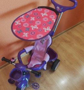 Яркий,удобный,велосипед для леди