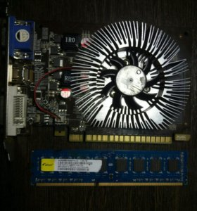 Продаю оперативную память и видеокарту