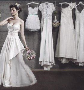 Приведем в порядок свадебное платье