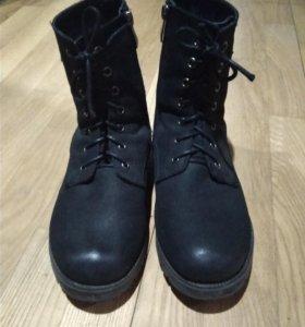 Ботинки кожа надеты 1 раз