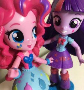My little Pony : Equestria Girls Minis