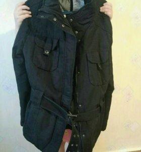 Куртка утеплённая, 52-54 размер