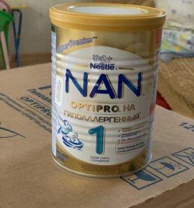 Детская смесь nan 1-гипоаллергенный