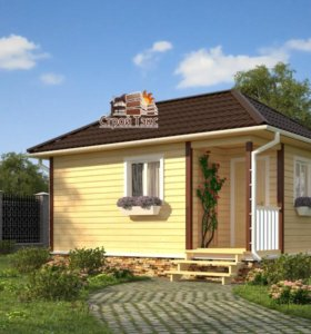 Срубовой дом ( возможно использование под баню )