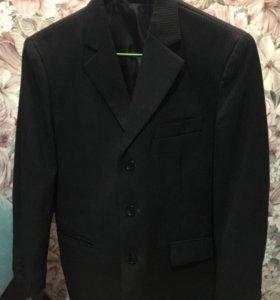 Школьный костюм пиджак жилетка