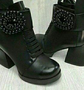 Ботинки новые,зима.