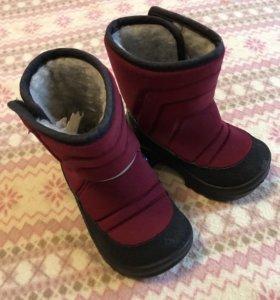 Сапоги зимние Kuoma 21 + зимние ботинки kakadu