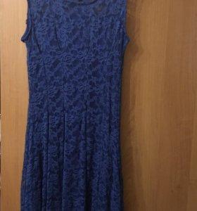 Платье Stella цвета Индиго