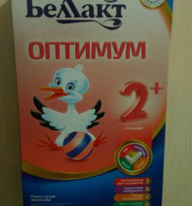 Детская смесь беллакт оптимум 2+