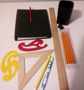 Канцелярские товары для старшеклассников и студент