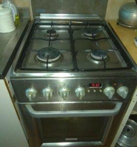 Плита газовая с электро духовкой