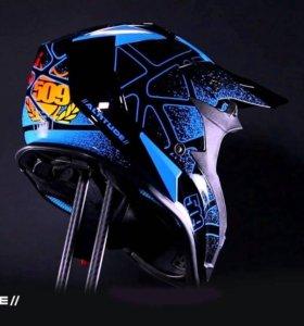 Шлем 509 Altitude Fire Ice (Мужской, XL, Черно-си