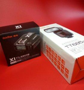 Godox tt685 canon + x1t