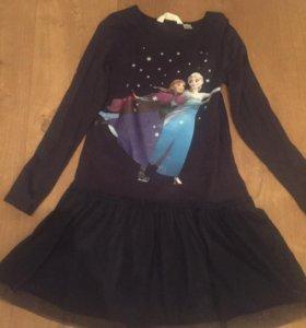 Платье для девочки рост 134-140