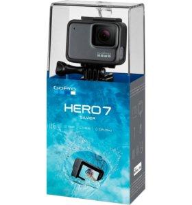 Go Pro Hero 7 Silver (новая)