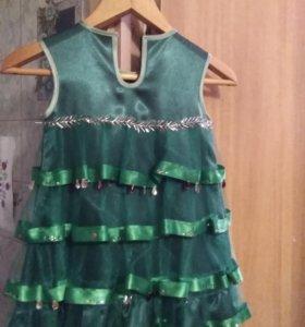 Платье ёлочка