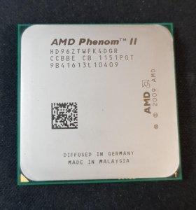 Процессор AMD Phenom II X4 960T