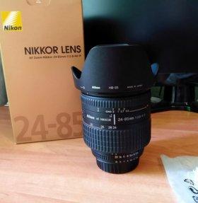 Nikon 24-85mm f2.8-4D IF