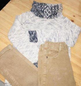 Комплектом свитер и брюки Зара