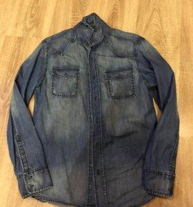 Джинсовая рубашка Collins,размер М