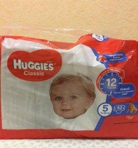 Памперсы Huggies 11-25 кг. (5)
