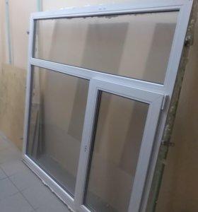 Пластиковое окно б/у