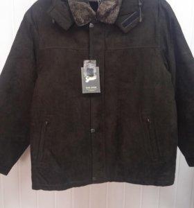 Новая мужская теплая зимняя куртка (р.54-56) .