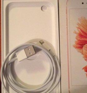 Новый оригинальный зарядный кабель от айфон 6s.