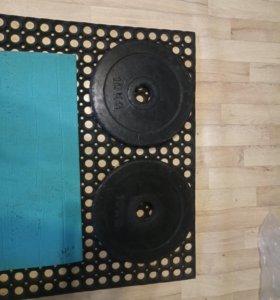 блины диски 10 кг