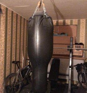Груша боксерская 80 кг кожа