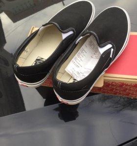 Кеды Слипоны Vans новые 45-46 размер