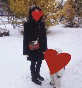 Шуба норковая б/у