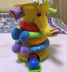 Слон-пирамидка TinyLove