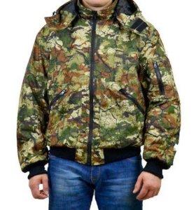 """Куртка мужская """"Бомбер"""" демисезонная тк.Мак-мембра"""