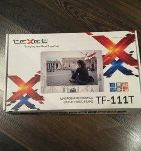 Фоторамка электронная Texet