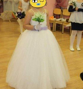 Платье на выпускной для принцессы