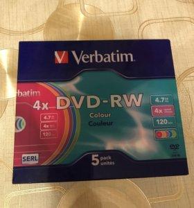 Болванки CD-RW, DVD-RW