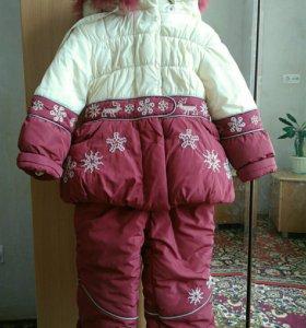 Комплект зимний kiko на девочку