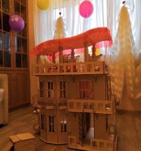 🎄🎁Шикарный особняк , кукольный дом для барби