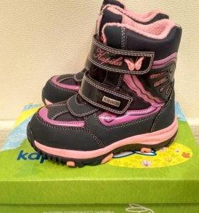 Зимние мембранные ботинки Kapika